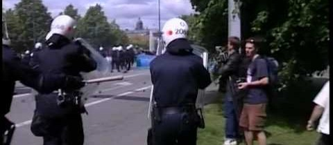 EU-topmøde, Göteborg 2001 – Politiets rolle