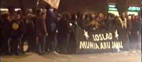 Støttedemonstration for Mumia Abu-Jamal