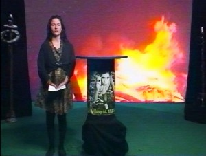Stillbillede fra udsendelsen d. 24. maj 1993